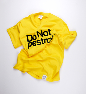 Do Not Destroy Daisy t-shirt tee