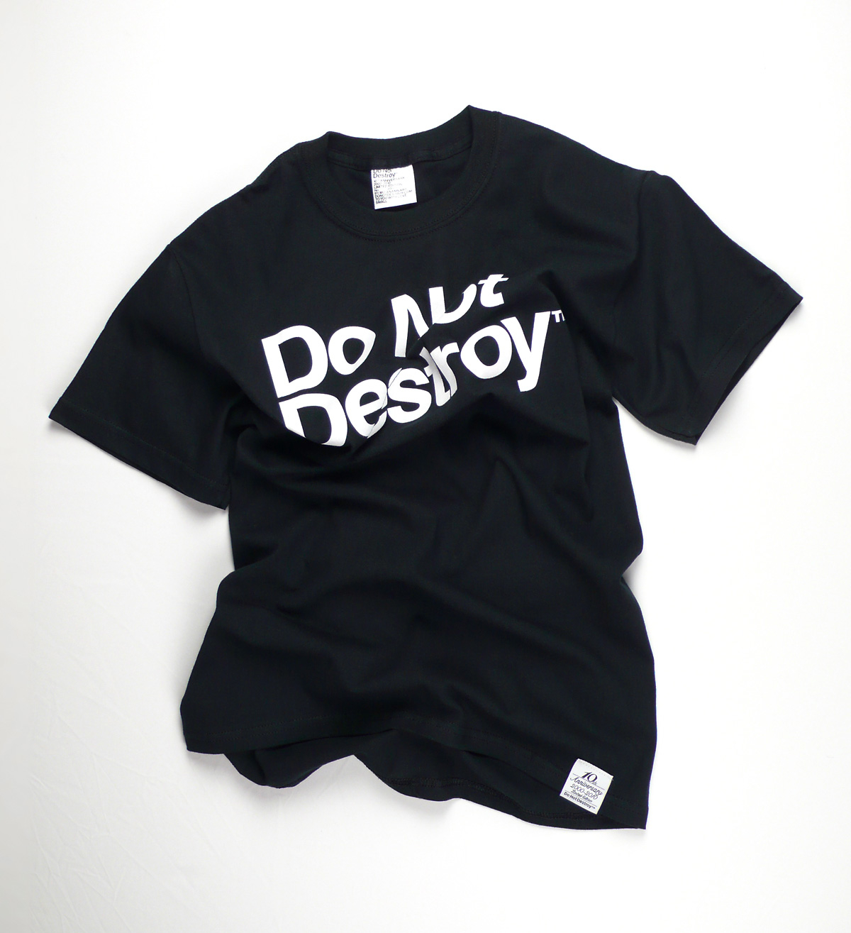 Do Not Destroy Black t-shirt tee