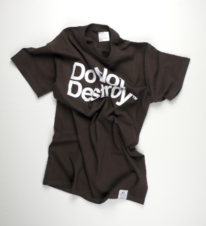 Do Not Destroy Dark Chocolate t-shirt tee