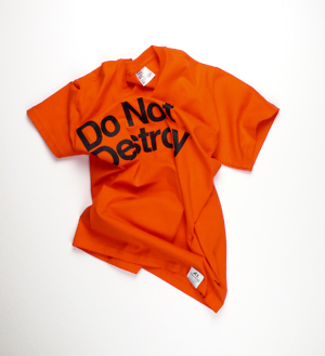 Do Not Destroy Orange t-shirt tee