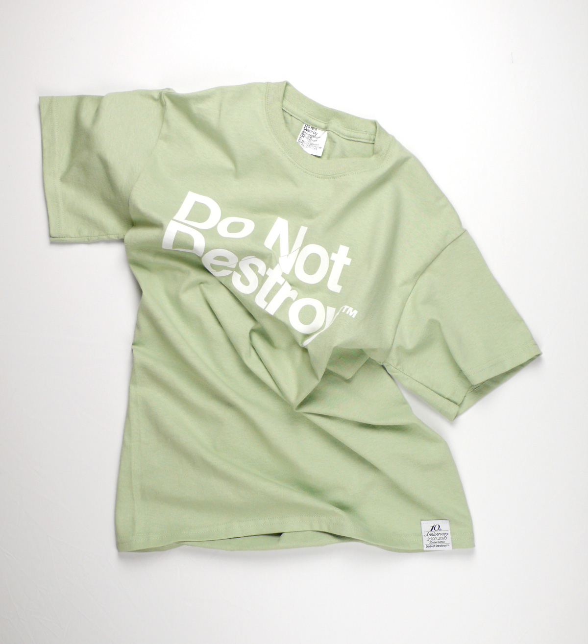 Do Not Destroy Serene Green t-shirt tee