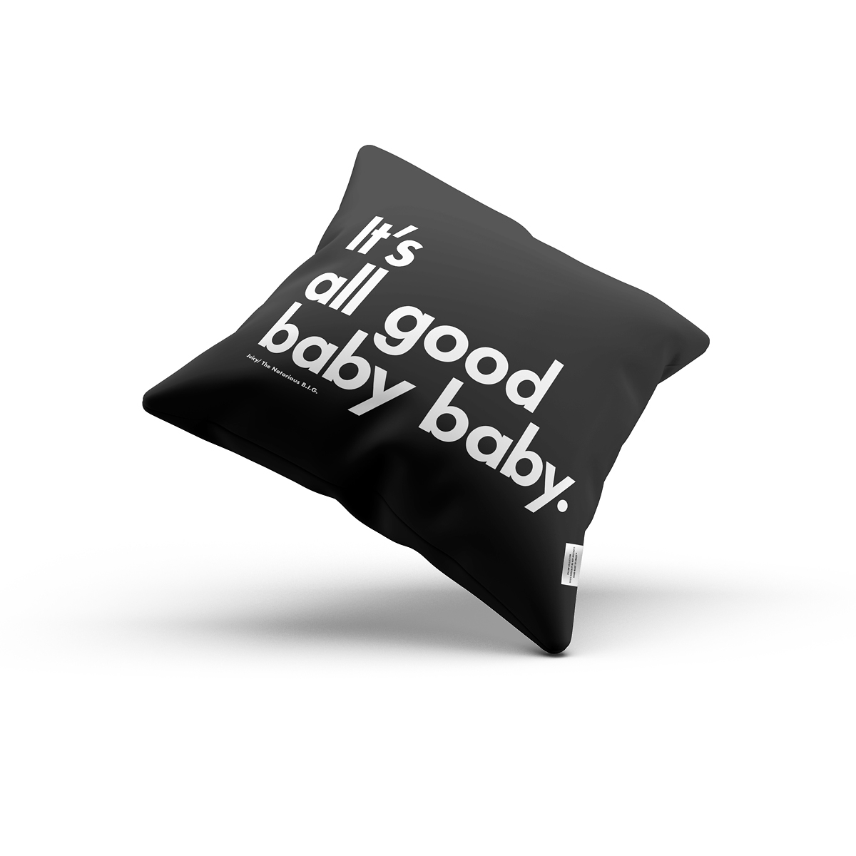 It's all good baba babay BIG pillow