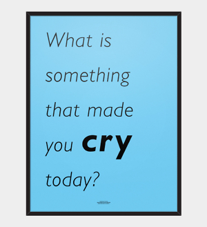 SOMETHING CRY POSTER