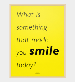 SOMETHING SMILE POSTER