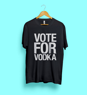Vote For Vodka TEE