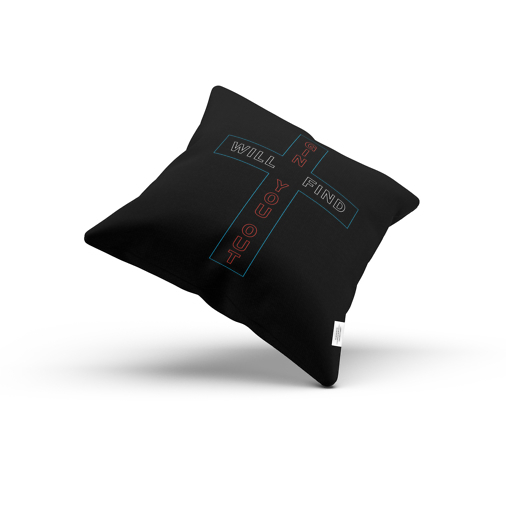 Gin Sin pillow